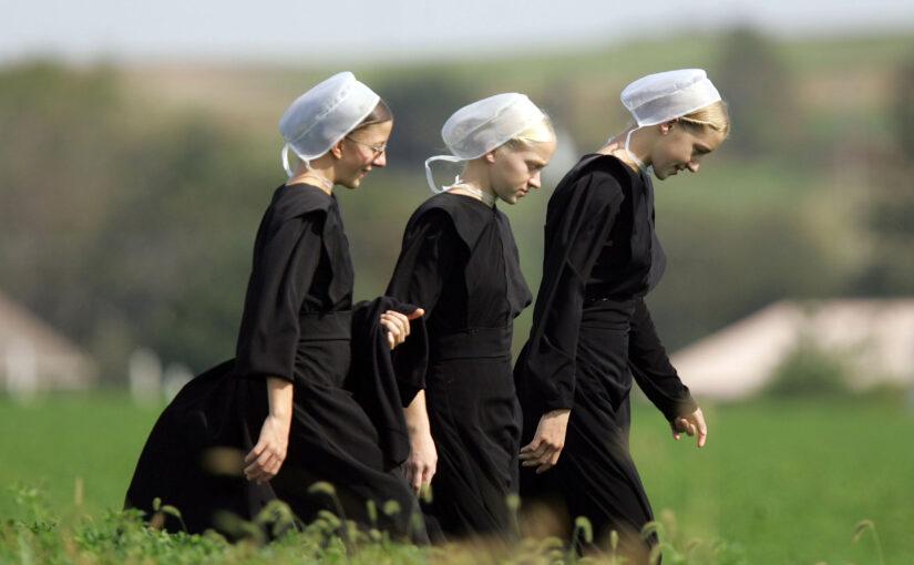 Le Président, les Amish et la lampe à l'huile
